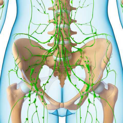 On Pelvic Pain and Lymphatic Drainage