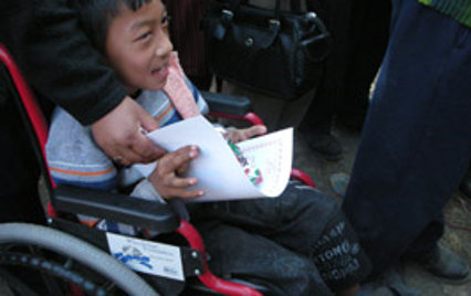 Sustaining Help for Nepalese Children Suffering from Cerebral Palsy